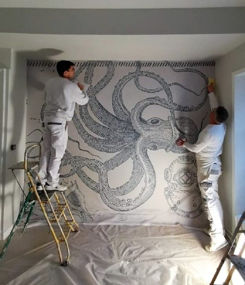 artisan papier peint angers