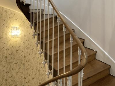 renovation cage escalier angers artisan