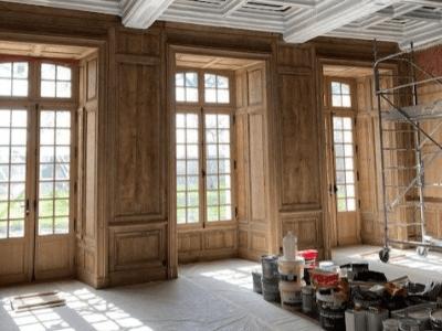 renovation salon classique